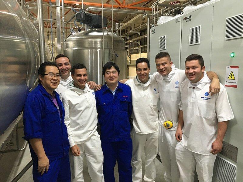 哥伦比亚真空带式干燥设备项目